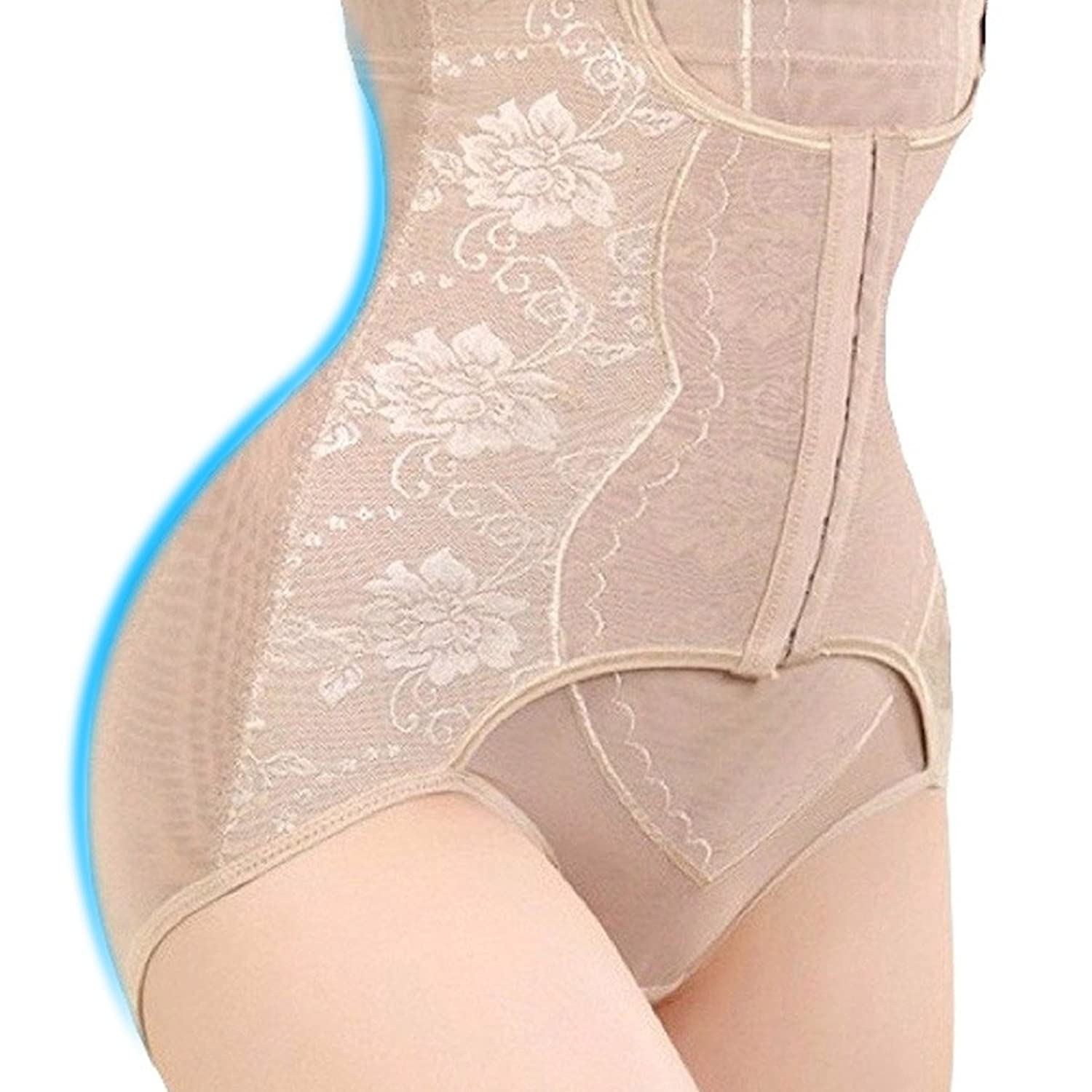 a9406af14 FRIM TUMMY CONTROL WITH 3 HOOKS  LovBeauty High waisted tummy control  panties adpots the power cinching with 3 hooks and eye columns in order to  realize the ...
