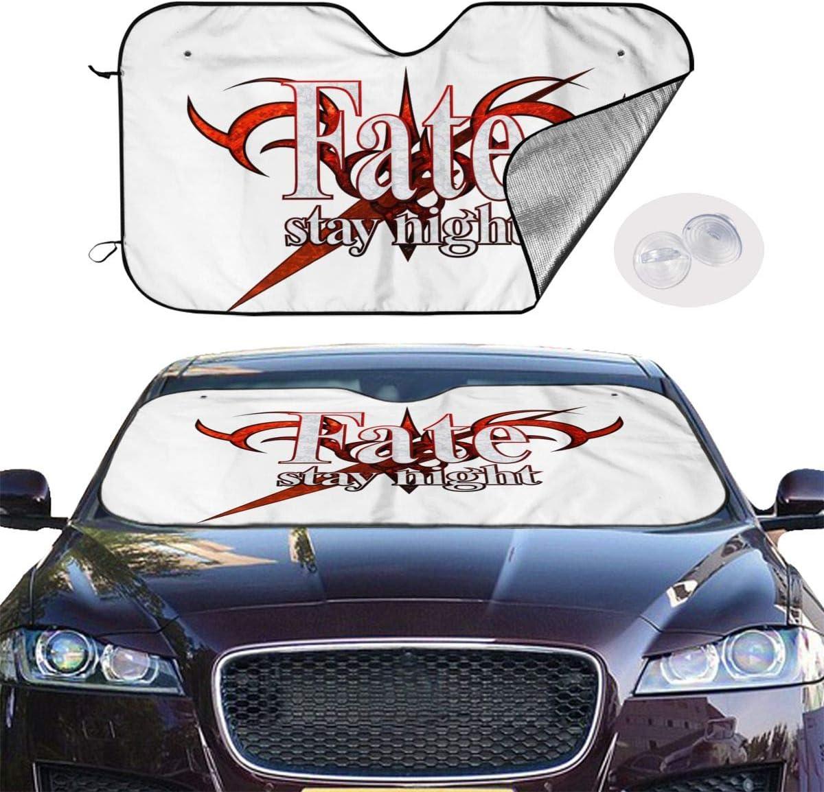 RJ5nrusfwtba Fate Stay Night Folding Custom-Fit Sunshade