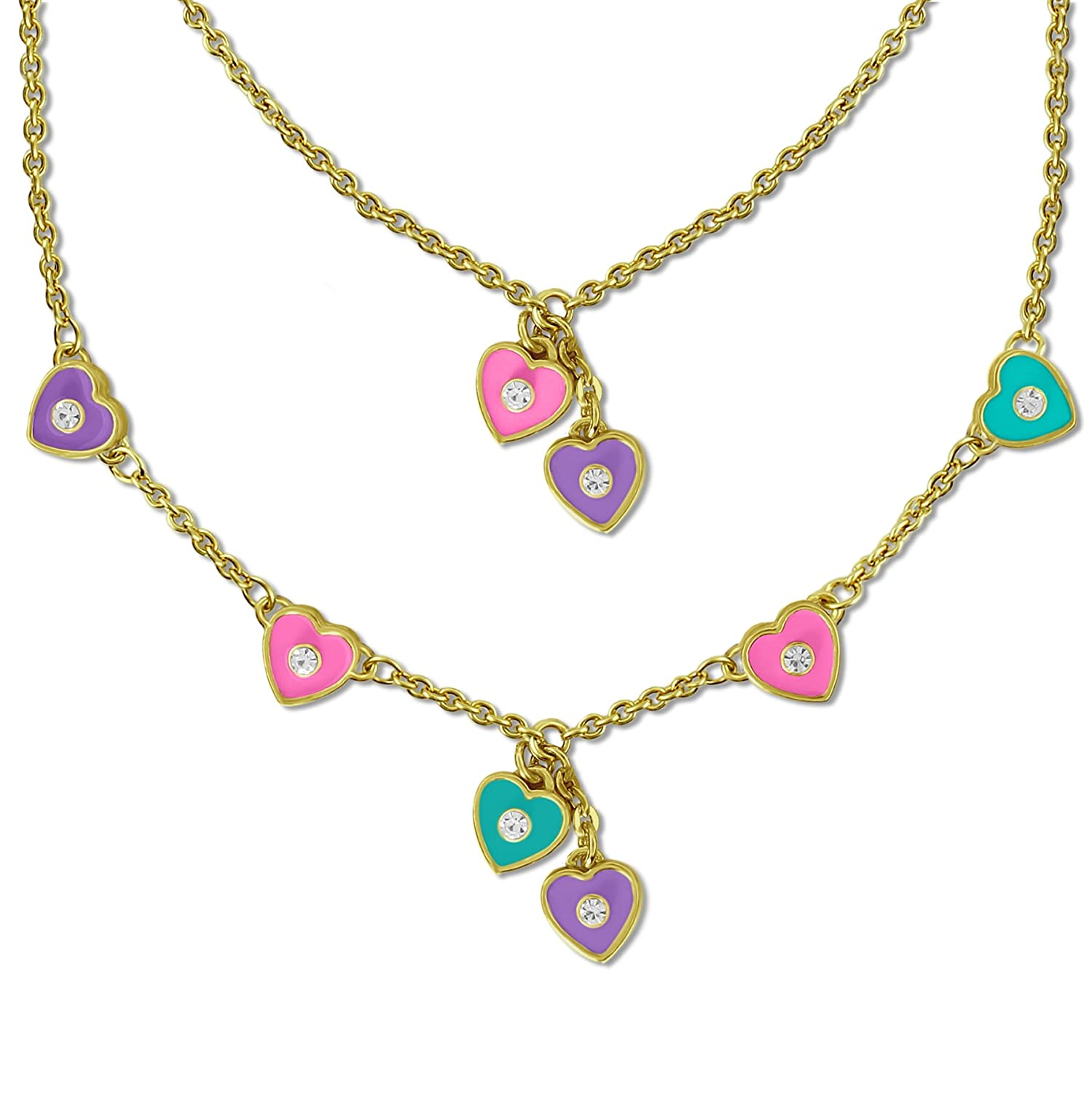 Set of 2 Necklaces | American Girl Doll Accessories Charm Necklace ...