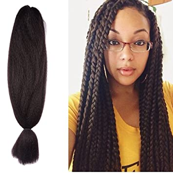 Amazoncom 48 Inch Braiding Hair Kanekalon Crochet Braids