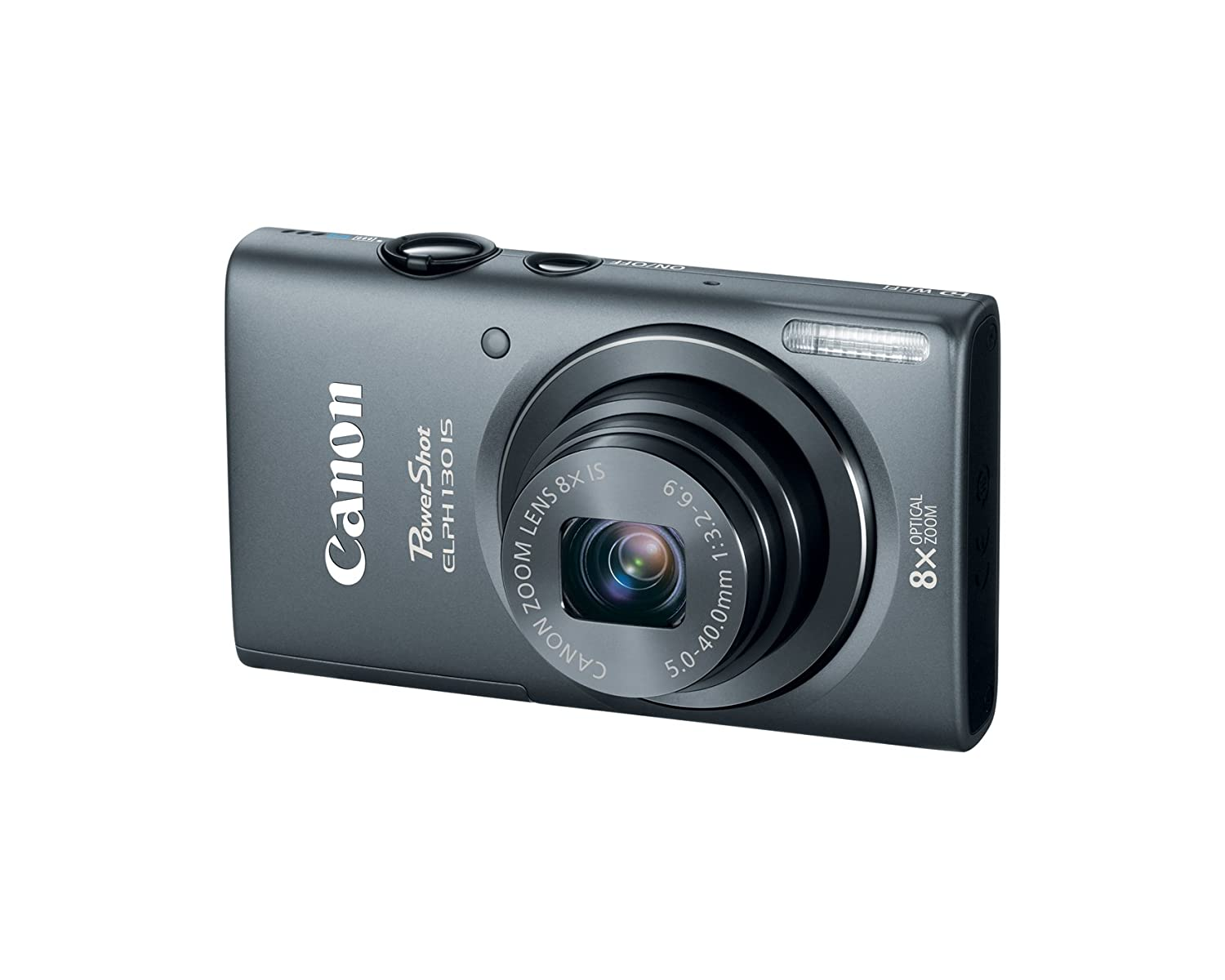 Amazon.com : Canon PowerShot ELPH 130 IS 16.0 MP Digital Camera ...