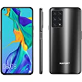HAFURY GT20 Unlocked Smartphone, 8GB RAM/256GB, 6.4-Inch Display, 48MP Cameras, 4200mAh Battery, Android 10, Global Version,D