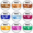 Maud's Flavored Coffee Variety Pack, 40ct. Recyclable Single Serve Flavored Coffee Pods - 100% Arabica Coffee California Roas