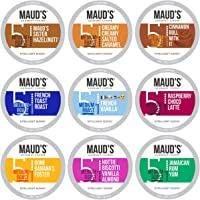 Maud's Flavored Coffee Variety Pack (Maud's 9 Original Core Flavors), 40ct. Solar Energy Produced Recyclable Single…