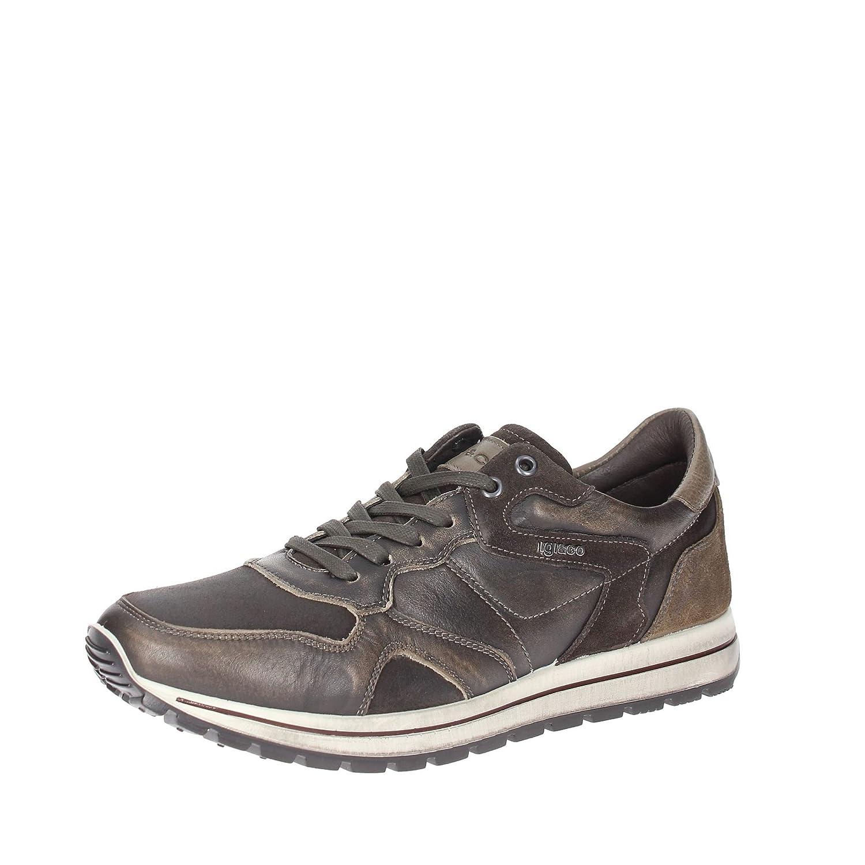 Igi&Co 47662 Sneakers Hombre Cuero Gris Pardo 44 zR6FS