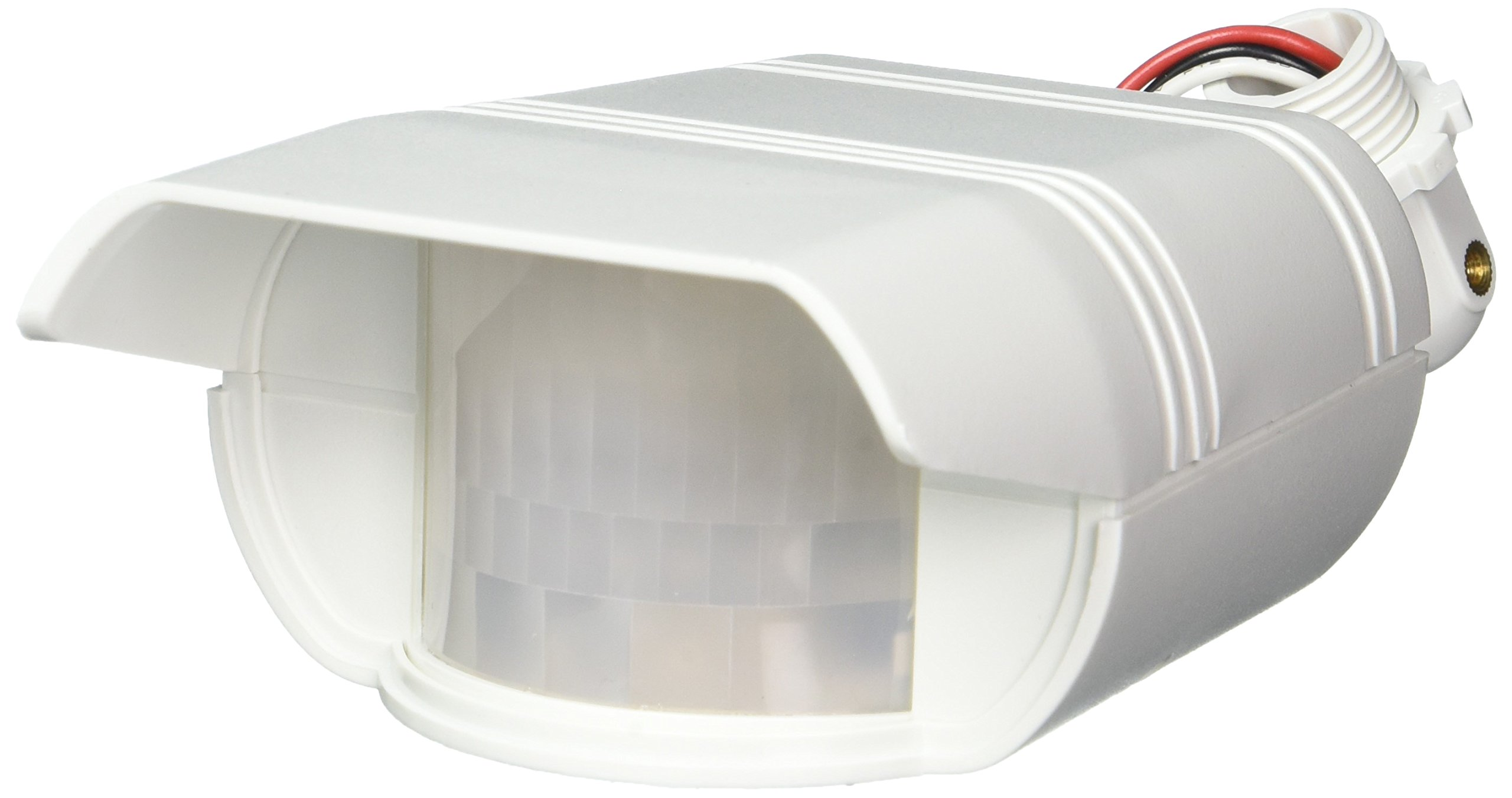 RAB Lighting GT500W Gotcha Outdoor Sensor with 110 Degrees View Detection, Polycarbonate, 500W Power, 120V, White