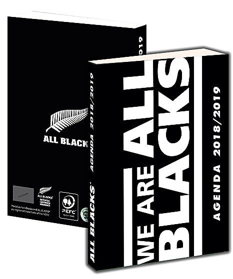 Agenda scolaire All BLACKS 2018 - 2019 - Collection officielle Nouvelle Zélande - Rentrée scolaire - Rugby