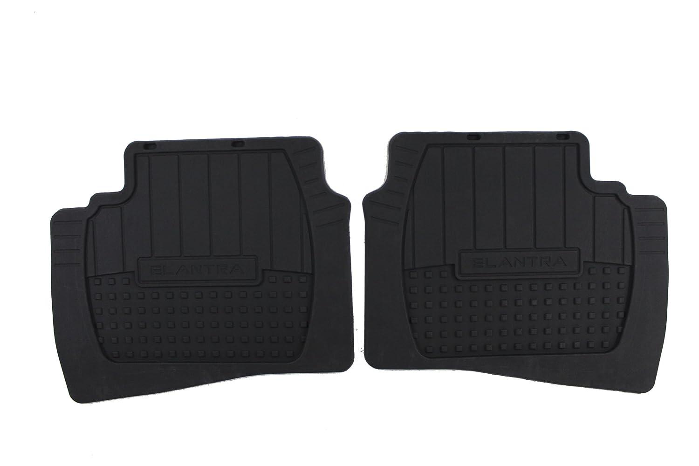 Genuine Hyundai Accessories 00281-87001 Rear All Weather Floor Mat for Hyundai Elantra Touring