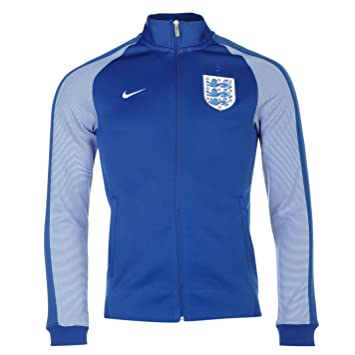 best website a6677 efe28 Nike England N98 Jacket Mens Royal White Football Soccer Track Top Small