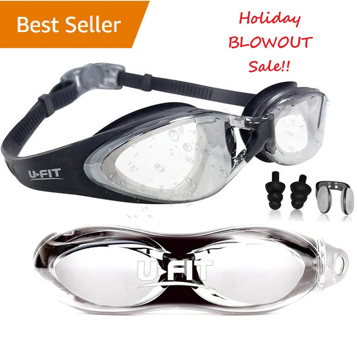 4943ca2b89 U-FIT Swimming Goggles - Swim Goggles For Men