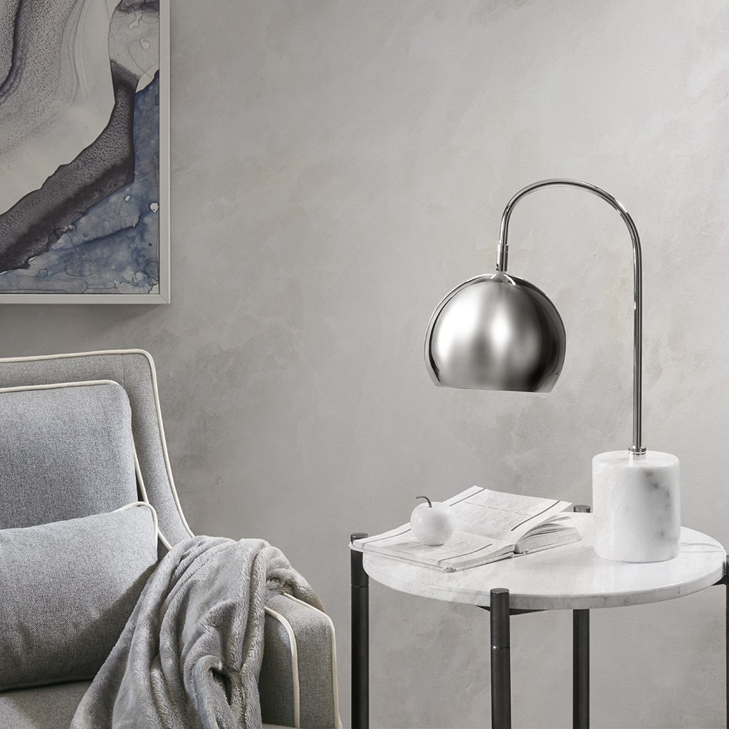 Madison Park Halsey Table Lamp Silver See below by Madison Park