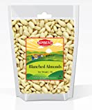 SUNBEST Blanched Whole Almonds in Resealable Bag (1 Lb)