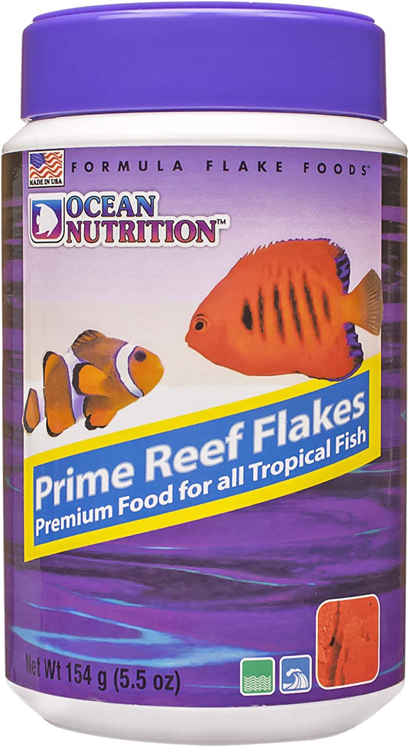 Ocean Nutrition Prime Reef Flakes 5.5-Ounces (154 Grams) Jar