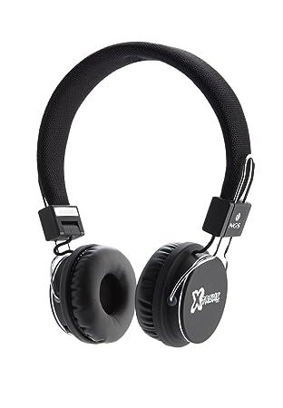 NGS Xtreme Artica - Auriculares de diadema cerrados para móvil y tablet con Bluetooth, color negro: Amazon.es: Electrónica