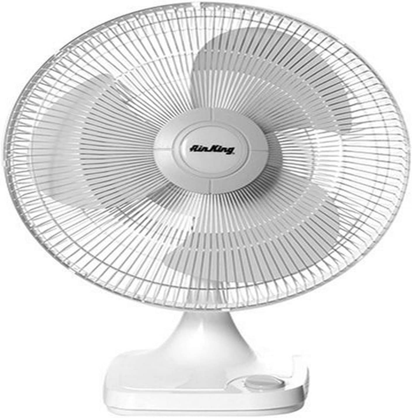 Air King At the Popular standard price of surprise 9102 12-Inch 3-Speed Table Fan Oscillating