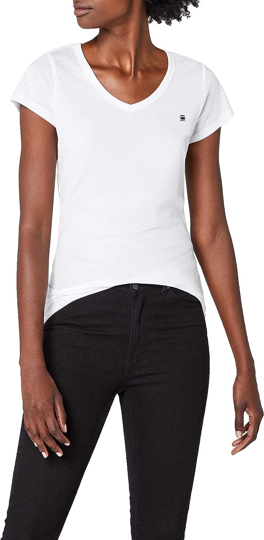 G Star Eyben Slim V T Wmn S/S, Camiseta Para Mujer