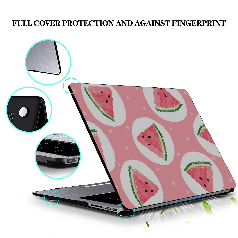 Case MacBook Pro 13 Summer Vintage Cute Fruit Watermelon Plastic Hard Shell Compatible Mac Air 11 Pro 13 15 Laptop Case 13 Inch Protection for MacBook 2016-2019 Version