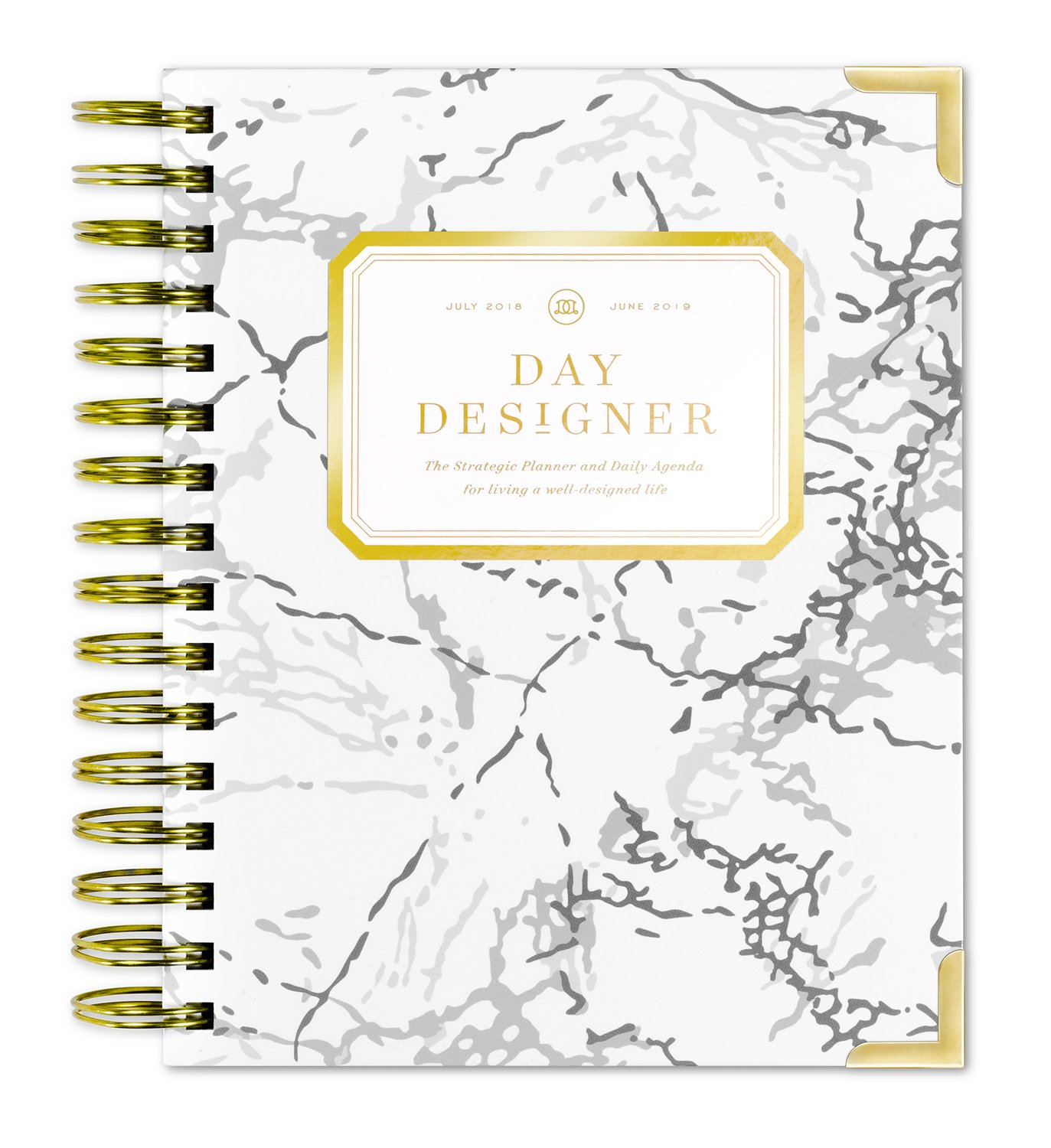 """Day Designer Daily Planner 2018 19 