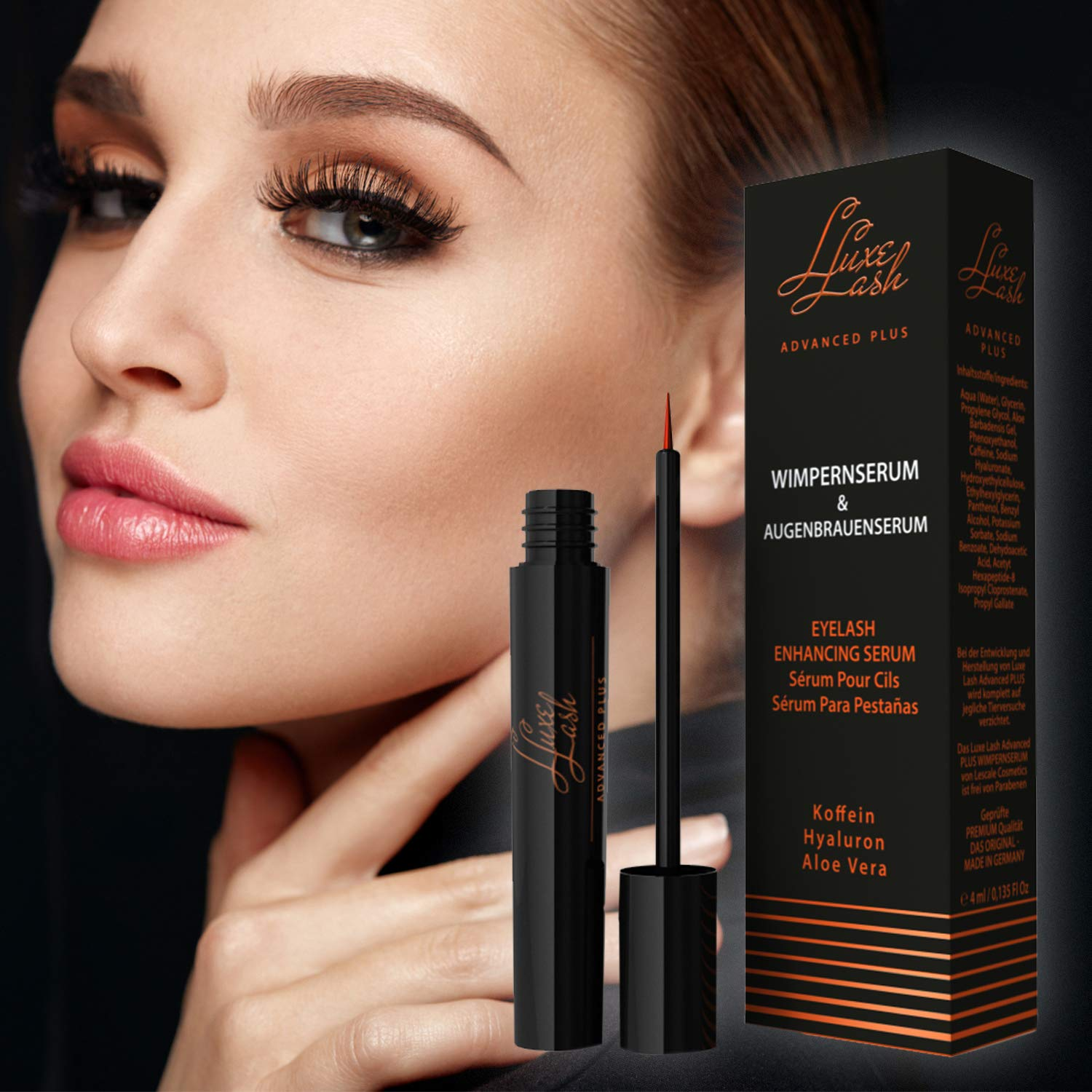 Eyelash Growth Enhancer Serum and Conditioner 4 milliliters by Luxe Lash by Lescale (Image #3)