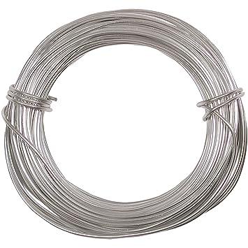 Amazon.com: Aluminum Craft Wire 18 Gauge 39 Feet SILVER