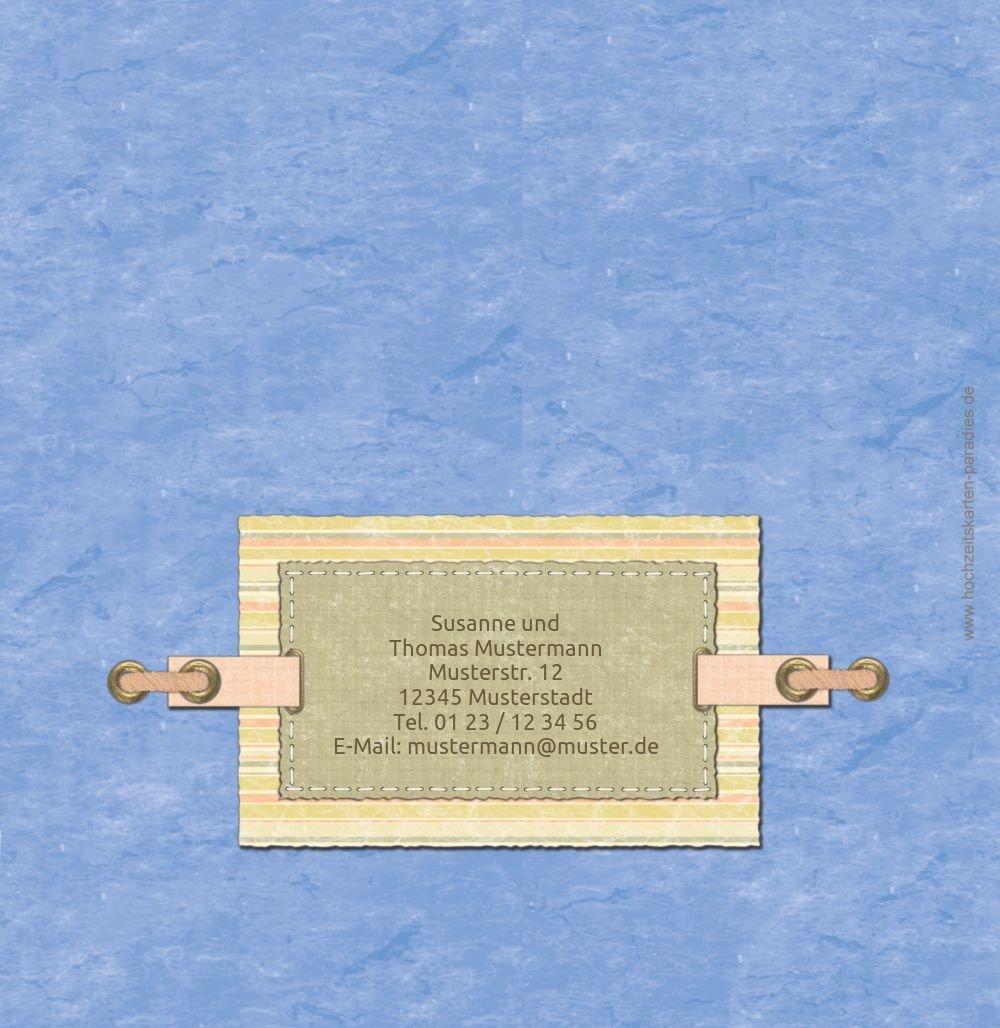 Kartenparadies Danksagung für für für Hochzeitsgeschenke Hochzeit Dankeskarte Bund für's Leben, hochwertige Danksagungskarte Hochzeitsglückwünsche inklusive Umschläge   20 Karten - (Format  145x145 mm) Farbe  OckerBeige B01MZCCAA9 | Wirts 1081b7