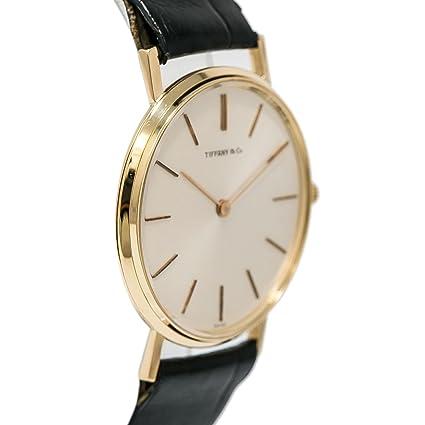Universal Geneve mechanical-hand-wind Mens Reloj Vintage (Certificado) de segunda mano: Tiffany & Co.: Amazon.es: Relojes