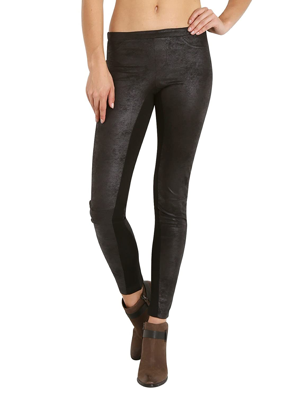 Nightcap Vegan Leather Skinny Pant Black