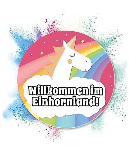 Placa de unicornio, país de los unicornios, decoración de pared, letrero para puerta