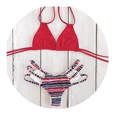 4165fff6ef4 Amazon.com: Jade clear 2019 Sexy Bikini Swimwear Women Push Up Swimsuit  Bandage Bikini Set Brazilian Summer Beach Bathing Suits: Clothing