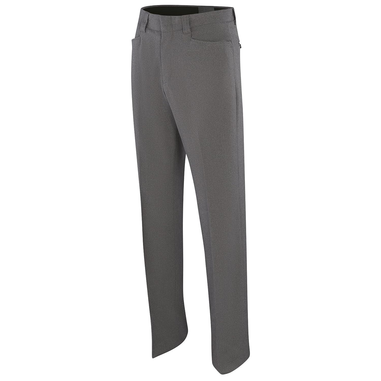 Adams USA ADMBB377-44-HG Umpire Combo Flat Front Poly//Spandex Uniform Pants Size 44 Schutt Sports Heather Grey