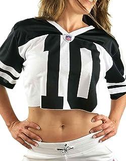 UISSOS Camiseta Futbol Americano para Mujer diseño Estampado número 10 Corta