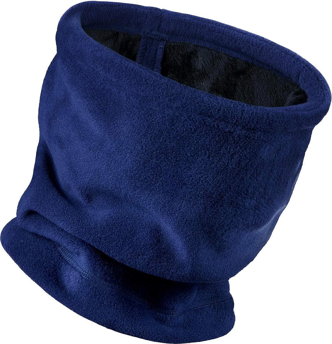 TSLA Winter Wear Warm Wind Resistant Beanie Fleece Unisex Neck Warmer
