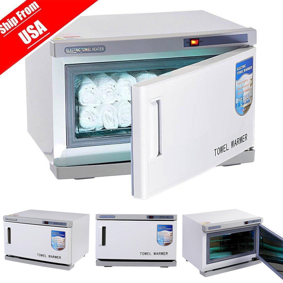 2 in 1 UV sterilizer cabinet and Hot towel warmer 16L