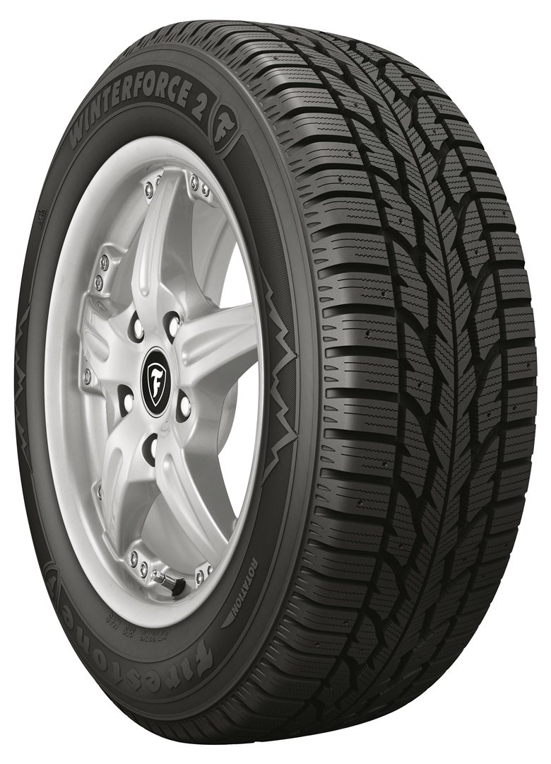 Firestone Winterforce 2 UV Studable-Winter Radial Tire - P265/75R16 114S by Firestone (Image #1)