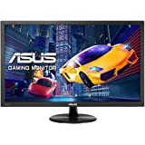 ASUS VP228H, 21.5 inch FHD (1920 x 1080) Gaming Monitor, 1 ms, HDMI, DVI-D, D-Sub, Low Blue Light, Flicker Free, TUV Certified