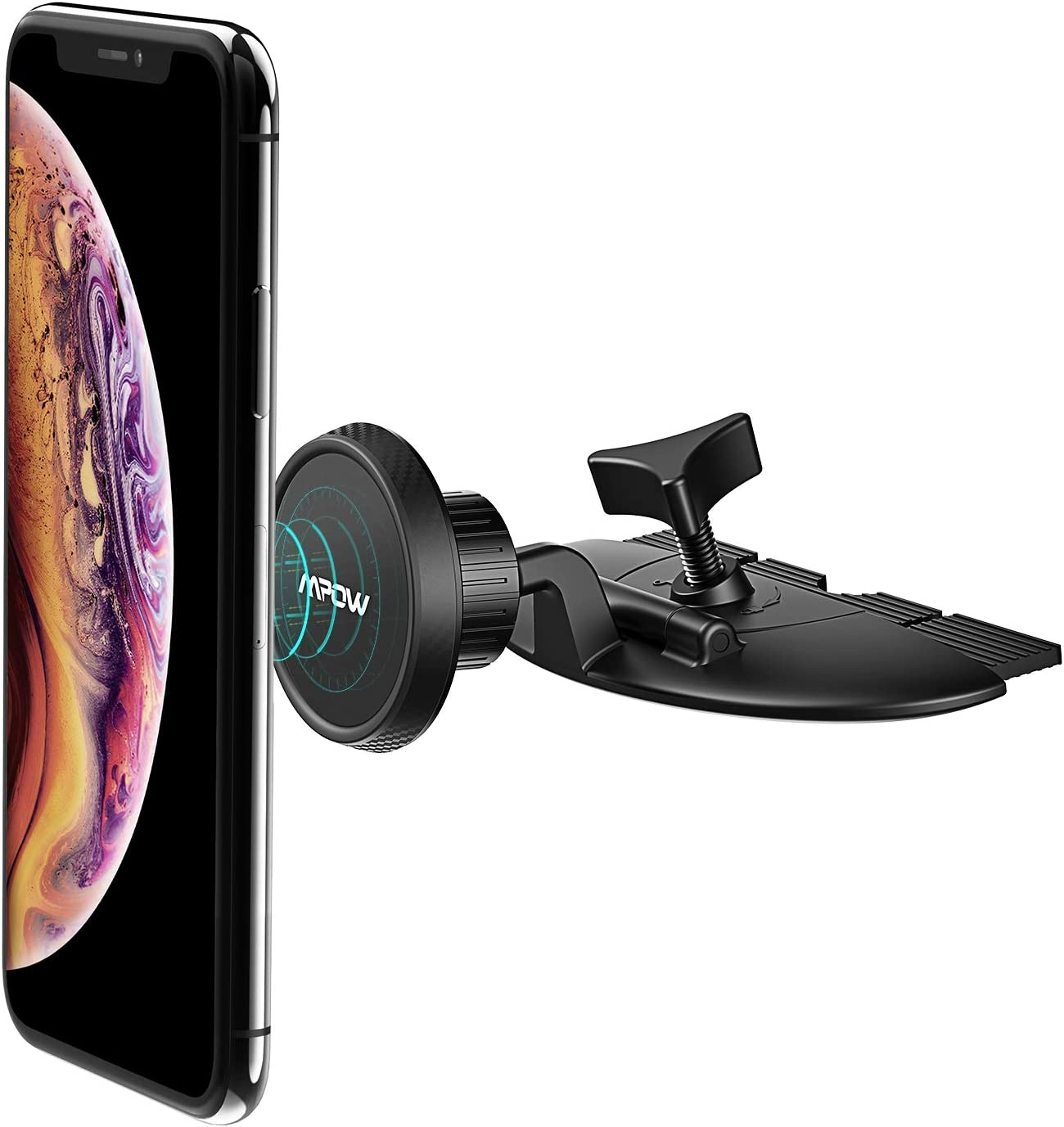 Universal Car Phone Mount Compatible with iPhone 11//11Pro//11Pro Max//Xs MAX//XR//XS//X//8//8Plus Mpow CD Slot Car Phone Holder Galaxy S10//S10+//S10e//S9//S9+//N9//S8 and Most Phones Magnetic Phone Car Mount