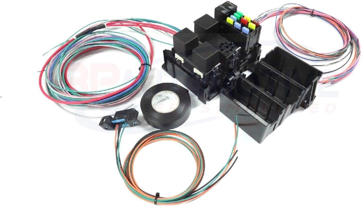 Amazon.com: Michigan Motorsports LS Swap Wire Harness Fuse Block with Fans  Stand alone Wiring Harness OBD2 Port: Automotive | Ls Swap Wire Harness |  | Amazon.com