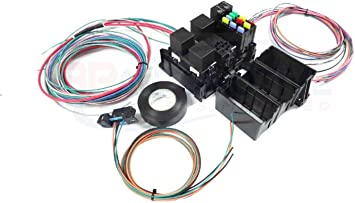Amazon.com: Michigan Motorsports LS Swap Wire Harness Fuse Block with Fans  Stand alone Wiring Harness OBD2 Port: AutomotiveAmazon.com