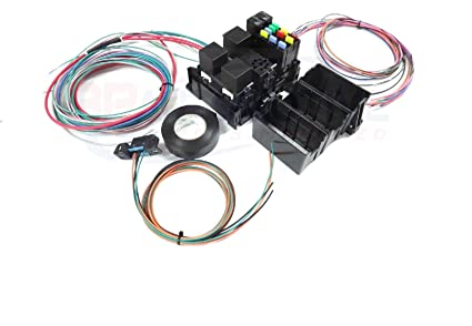 Outstanding Amazon Com Michigan Motorsports Ls Swap Wire Harness Fuse Block Wiring Cloud Oideiuggs Outletorg