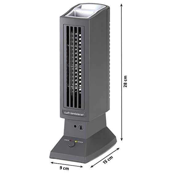 Tevigo Luftreiniger | Luft Ionisierer | Perfekt Für Allergiker, Raucher  Auch Bei Hausstaubmilben Allergie | Deutscher Hersteller: Amazon.de:  Baumarkt