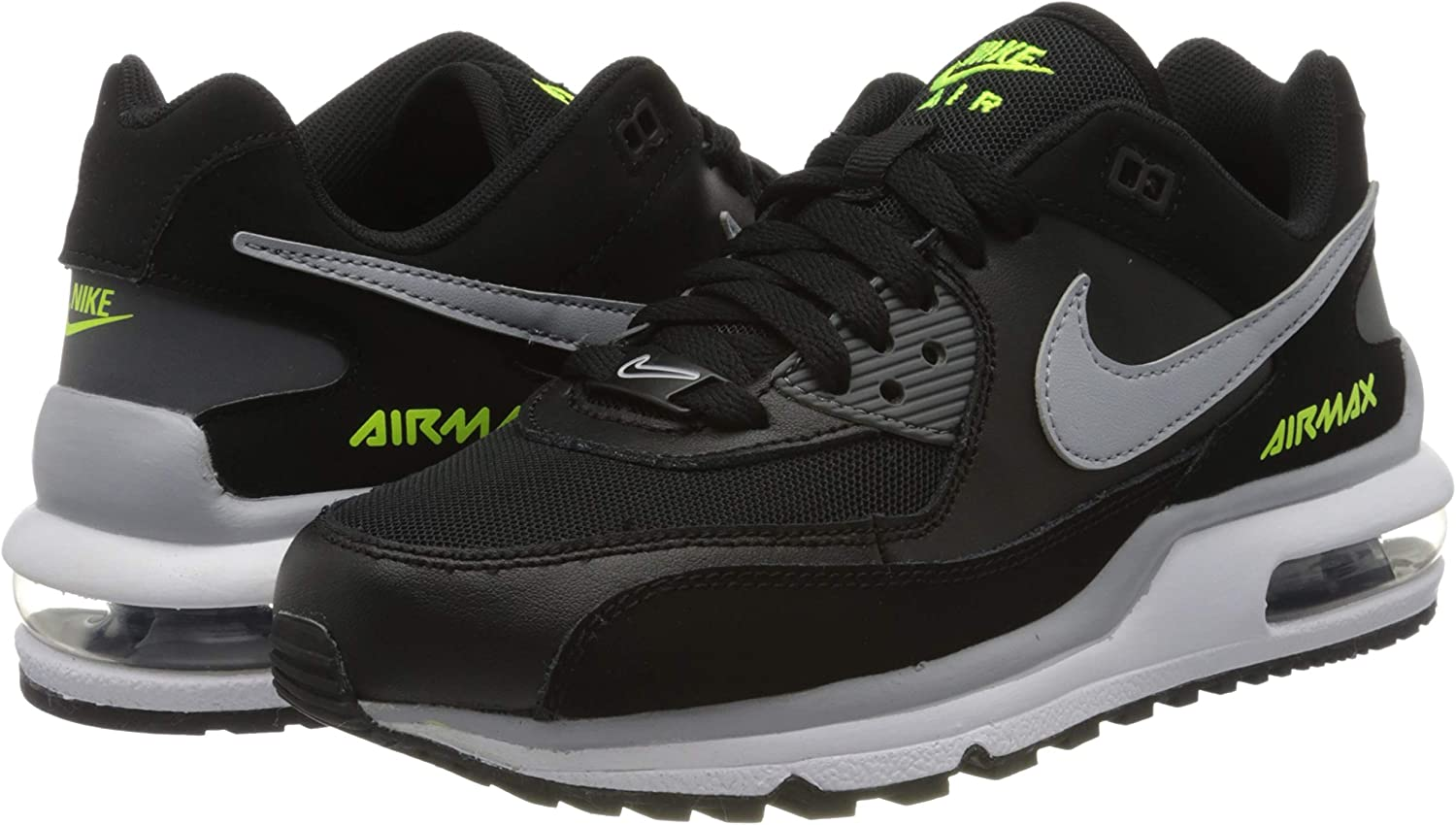 Nike Air Max Wright BG, Sneakers Basses Mixte Enfant