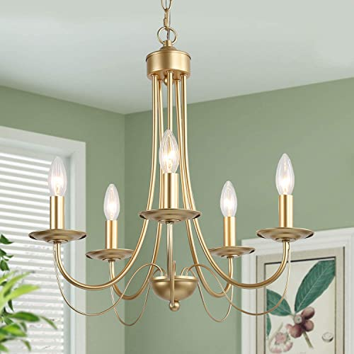 Gold Dining Room Chandelier
