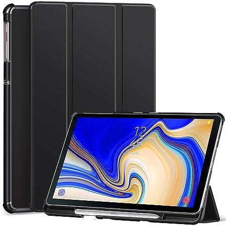 Ztotop Hülle für Samsung Galaxy Tab S4 10,5 2018 mit S Pen Halter,für Modell SM-T830/T835/T837,Leichtgewichts-Ultra Schlank L