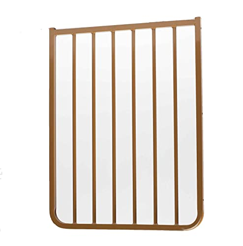 Cardinal Gates Extension for Outdoor Child Safety Gate, Brown, 21.5