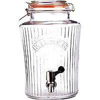 Kilner 25.407 Vintage Storage Jar with Dispensing Tap, 5L, Clear 01783