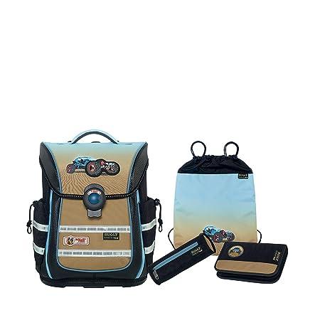 29133a1c2b McNeill 4-Part Satchel Set Ergo Light Pure Basic Set Polyester 20 l   Amazon.co.uk  Luggage