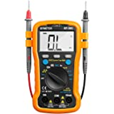 BTMETER Multimeter BT-39C Auto Range Digital Avometer Universal Meter 6000 Counts With New Substitutable Fixed Mode , NCV, Diode , AC & DC Voltage, AC & DC Current, Resistance, Capacitance, Frequency