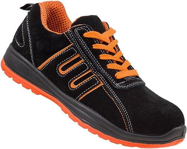 Urgent Men's Safety Shoes Steel Toe Cap