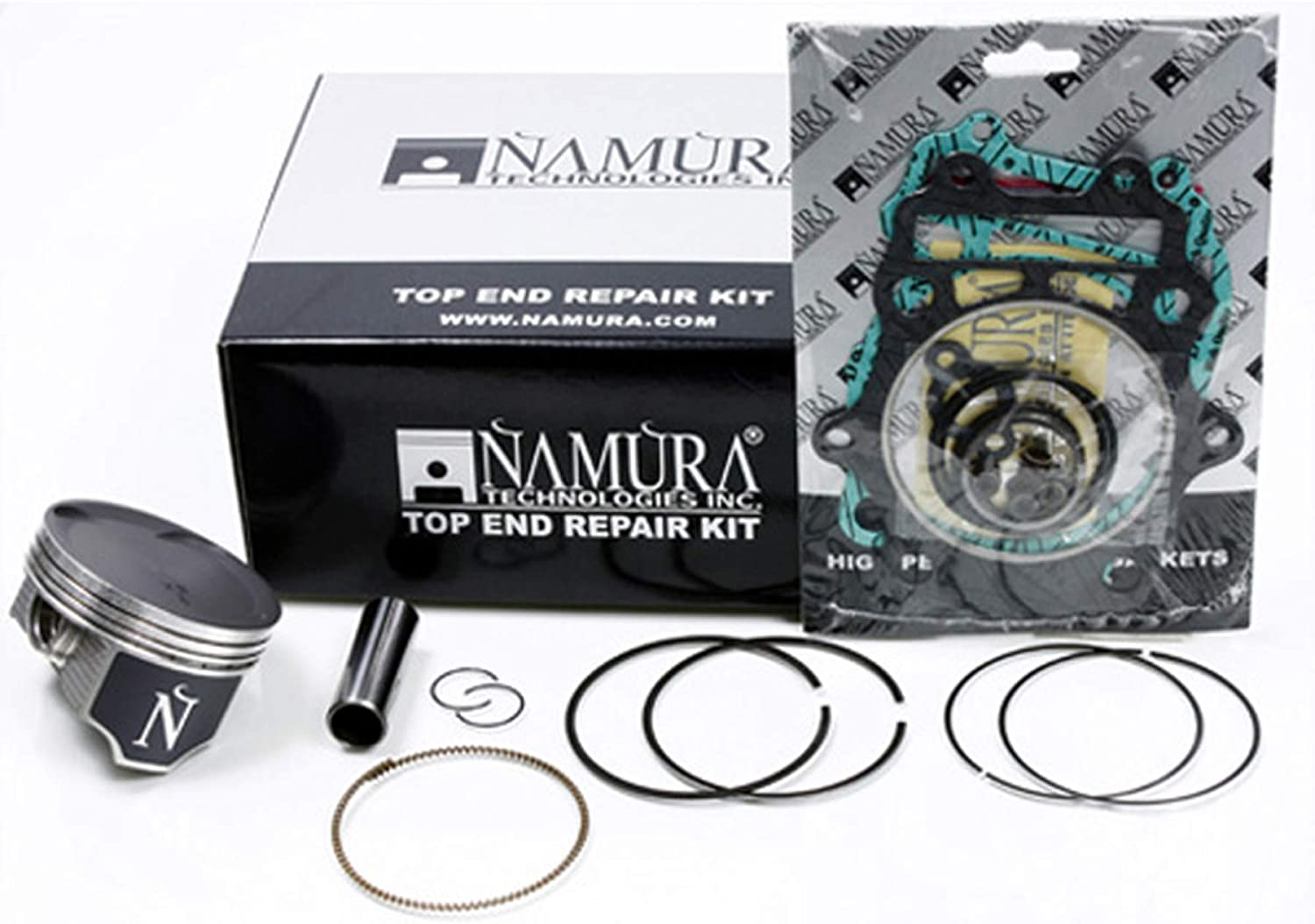 Namura Technologies Inc NA-30010R Piston Ring Set 2006 Arctic Cat 400 4x4 Auto