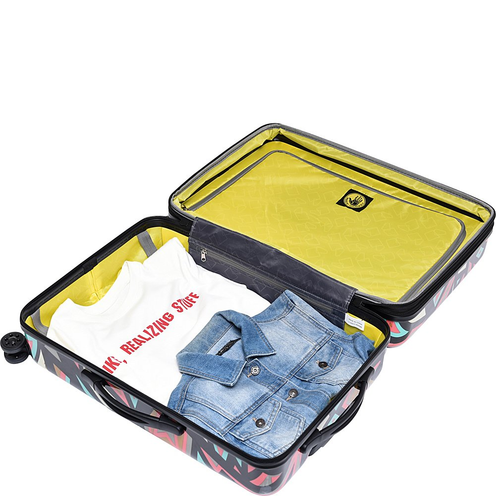 BODY GLOVE Long Lat Inner City 3 Piece Expandable Hardside Spinner Luggage Set